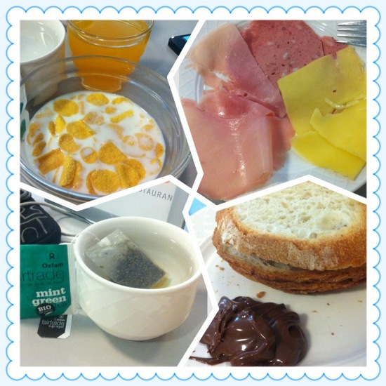 Breakfast is free at Luxembourg City Hotel