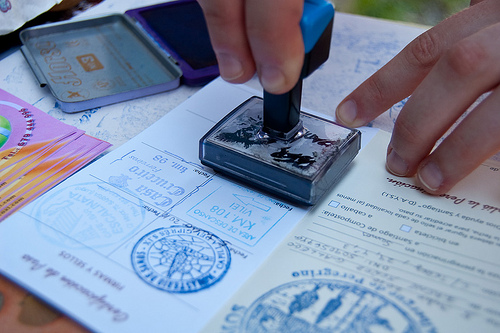 The Camino passport is an important part of the journey