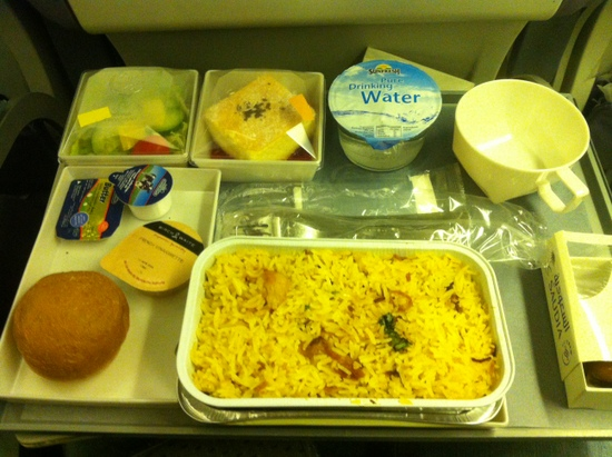 Food on Saudi Airlines food