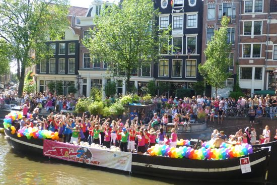 It's party time at Amsterdam Gay Pride