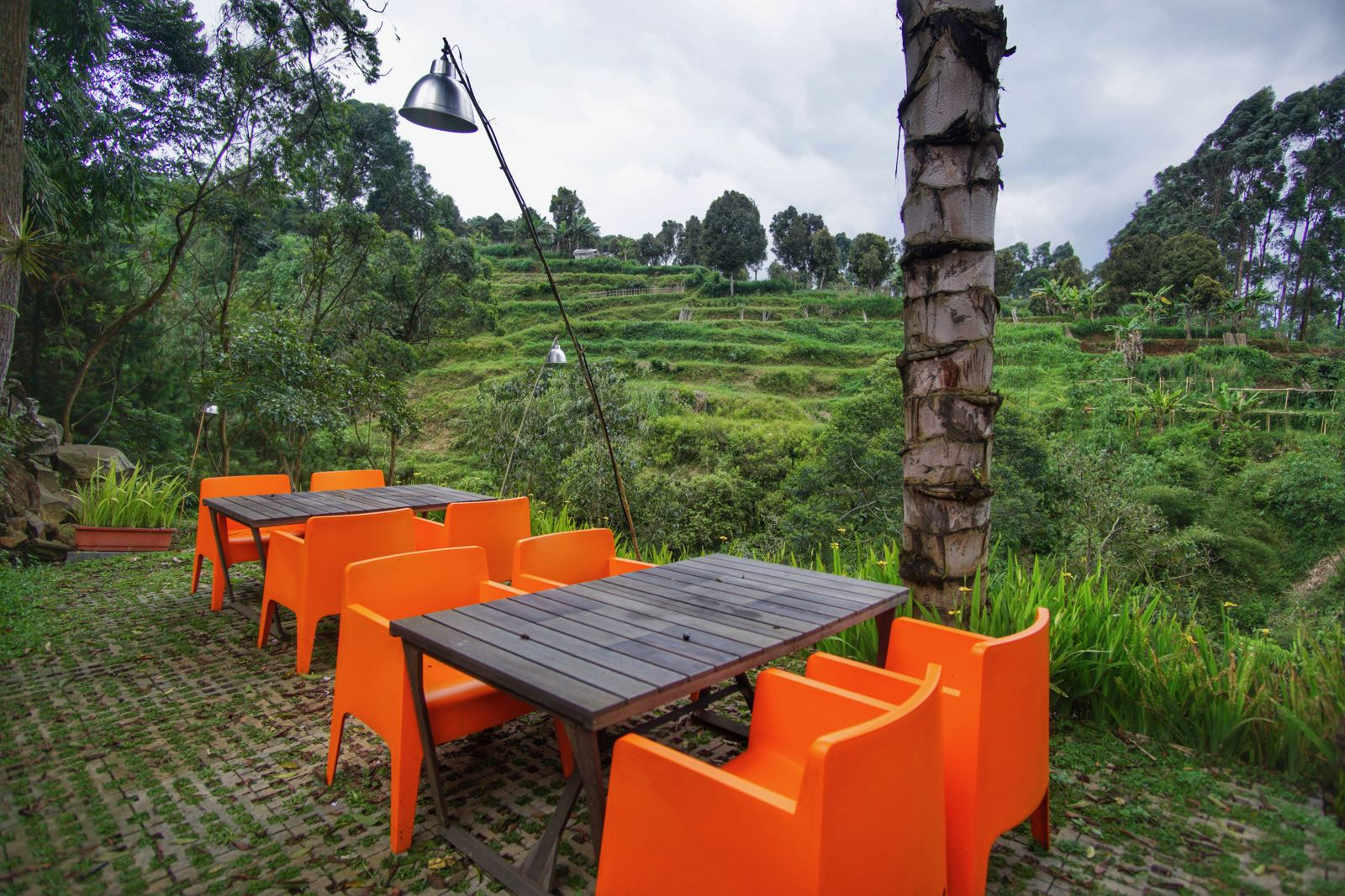 Outdoor Seating Di Salian