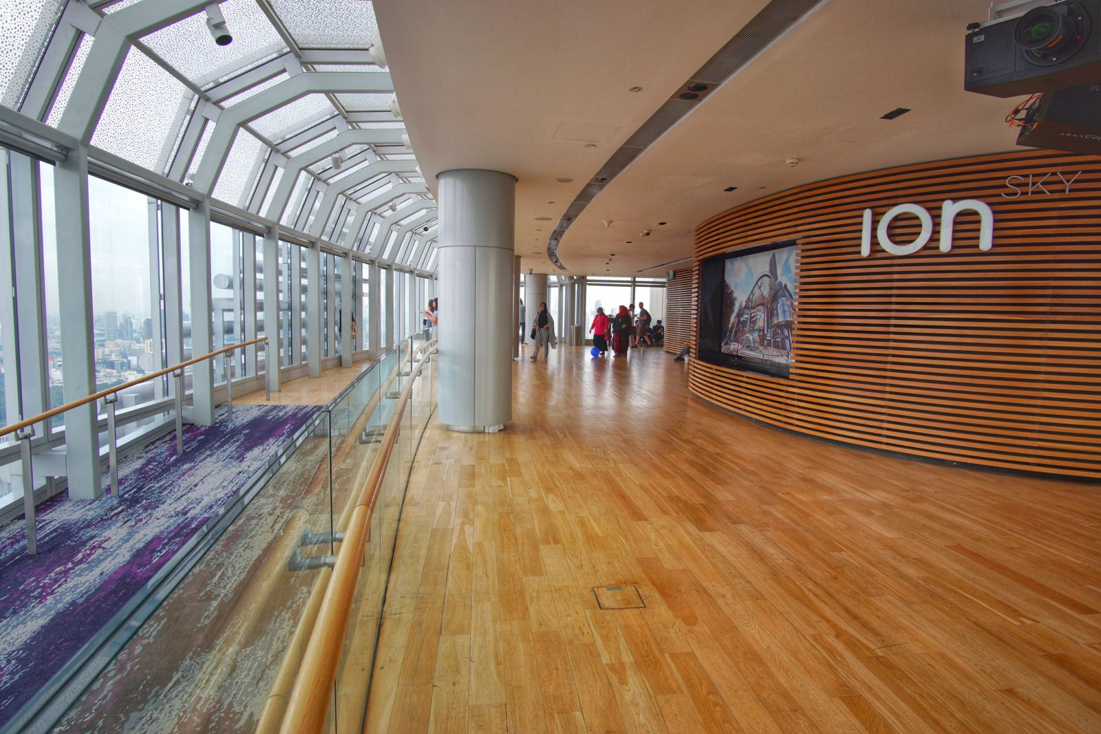 Interior ION Sky Orchard