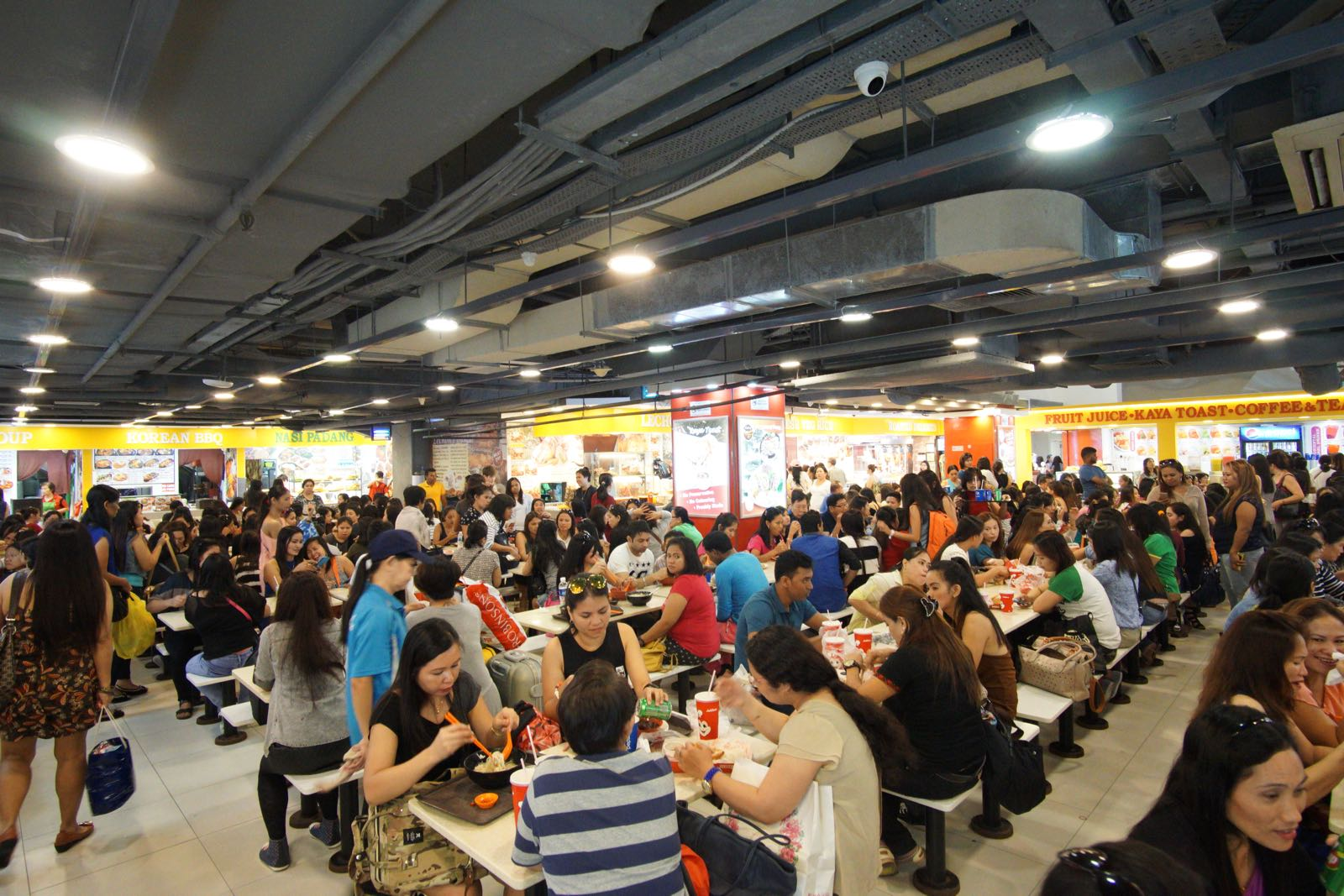 Food Court Di Basement Lucky Plaza