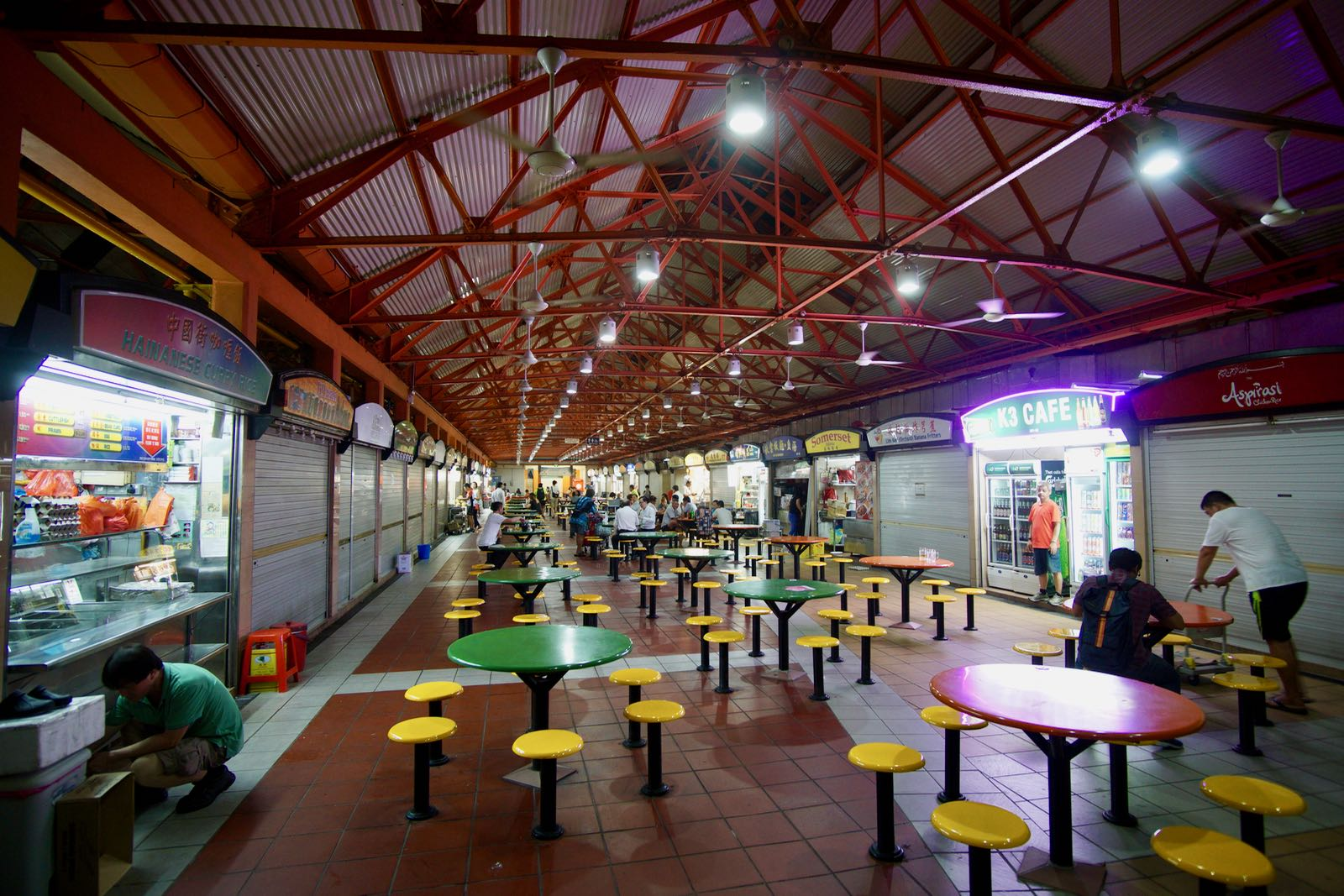 Maxwell Food Centre Chinatown Singapore