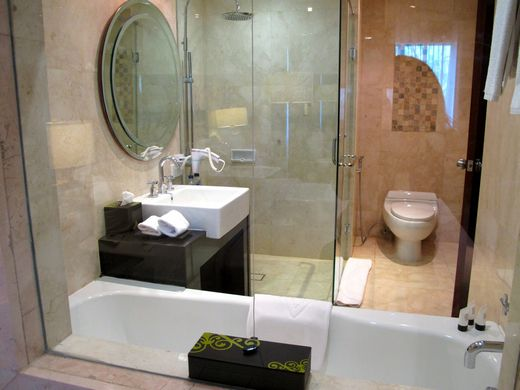 Hotel Papandayan - The bathroom