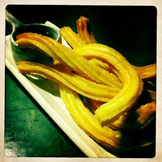 Churros -- sooo good. At Sugarush Bandung.