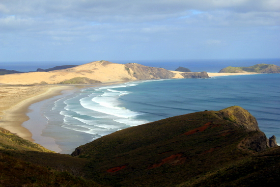 Cape Reinga at the very northern end of New Zealand