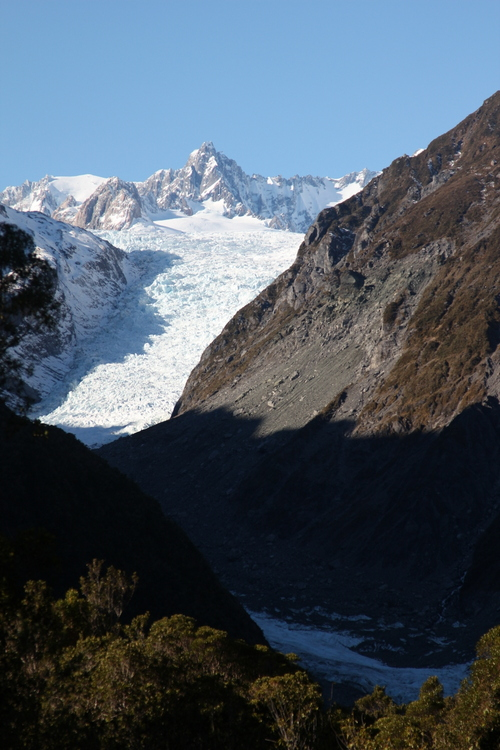 The glaciers are incredible