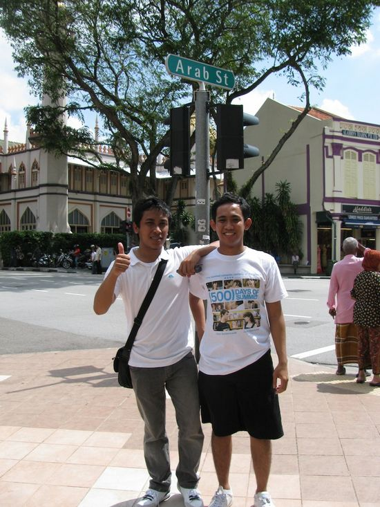 Welcome to Arab Street in Singapore
