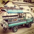 Transportasi umum di Laos - Song Thaew