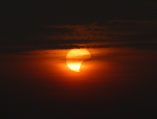 My last shot of the solar eclipse