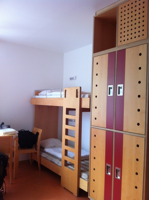 The rooms are comfortable, but very utilitarian