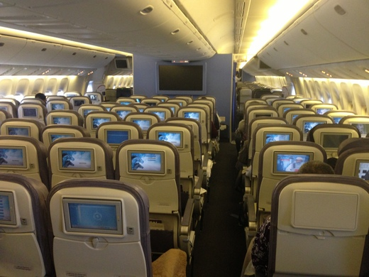 Saudi Arabian Airlines Seating Configuration