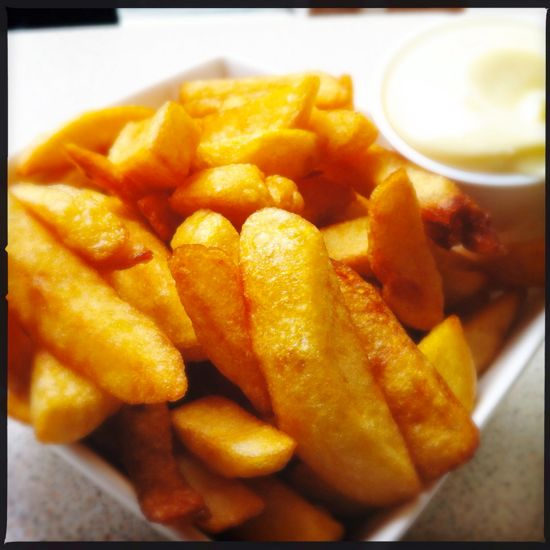 French Fries asli Belgia