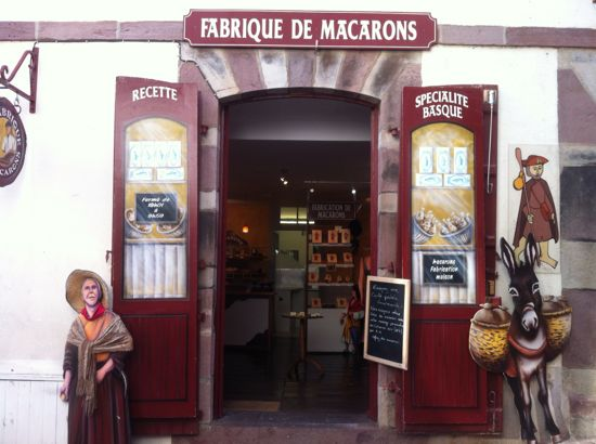 Cute shop in St Jean Pied-de-Port