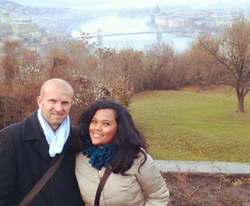 Budapest, Hungary for our 4th Wedding Anniversary