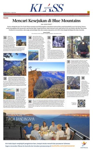 Blue Mountains - Kompas Klass - April 2016