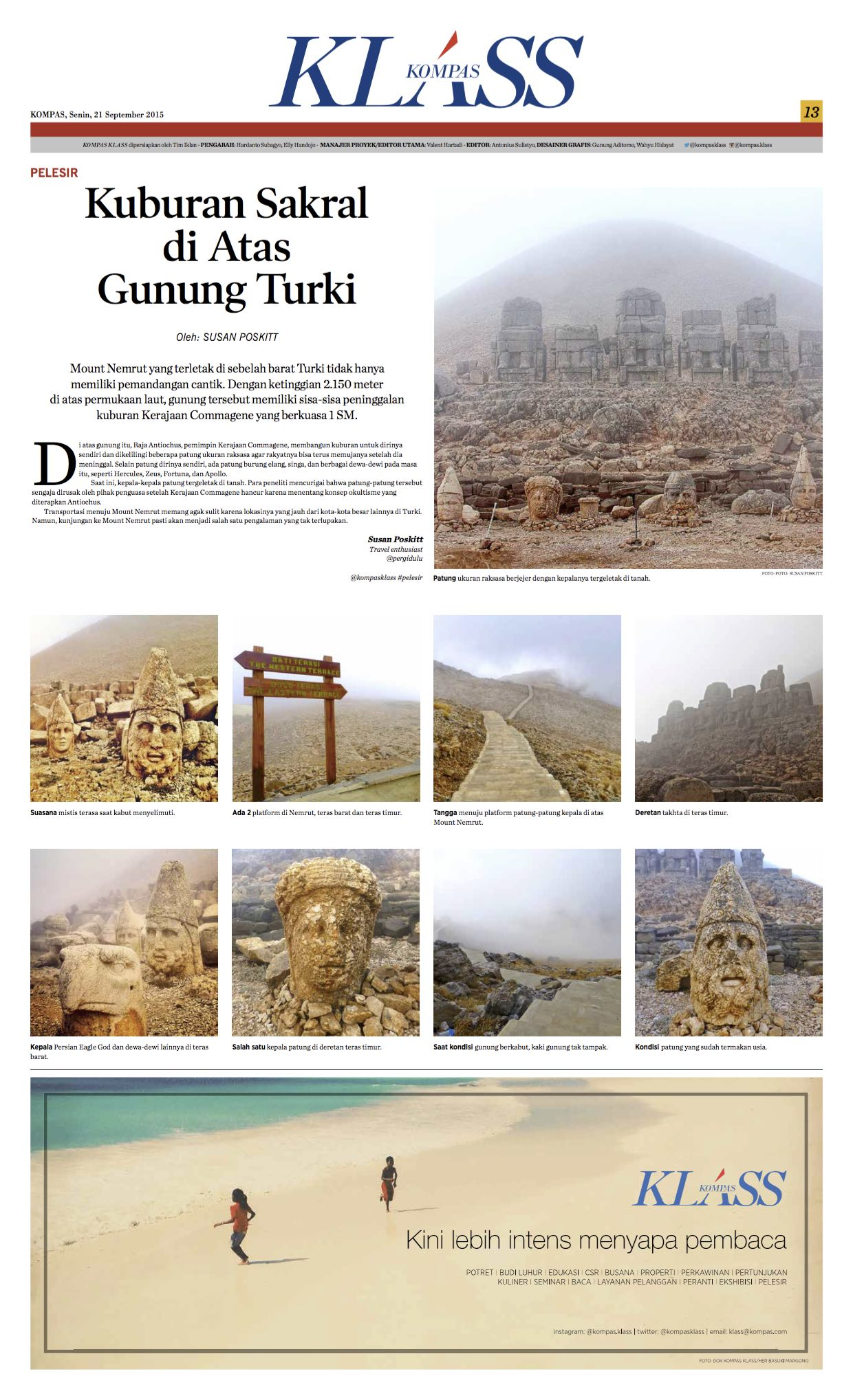 Mount Nemrut - Kompas Klass - September 2015