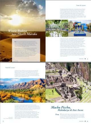 Maroko & Machu Picchu - Majalah First You - Juli 2016