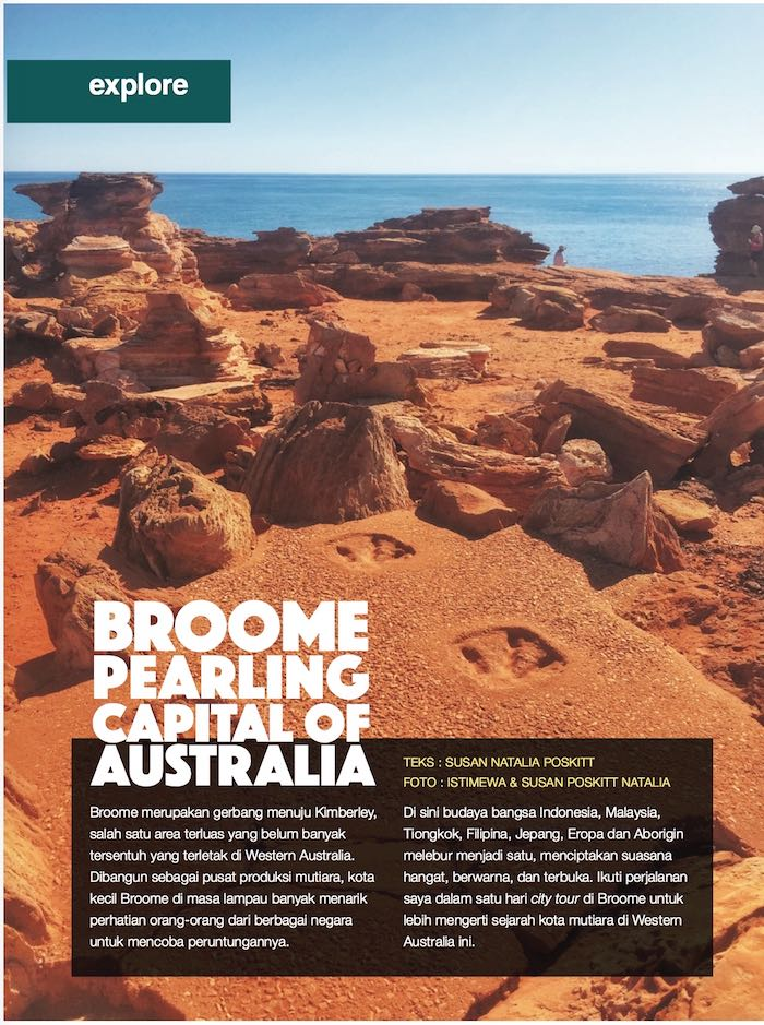 Broome - Majalah Getaway - September 2015