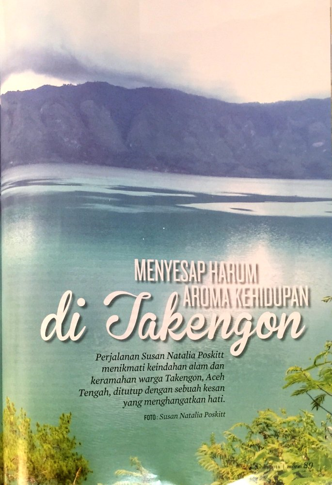Takengon - Majalah More - November 2014