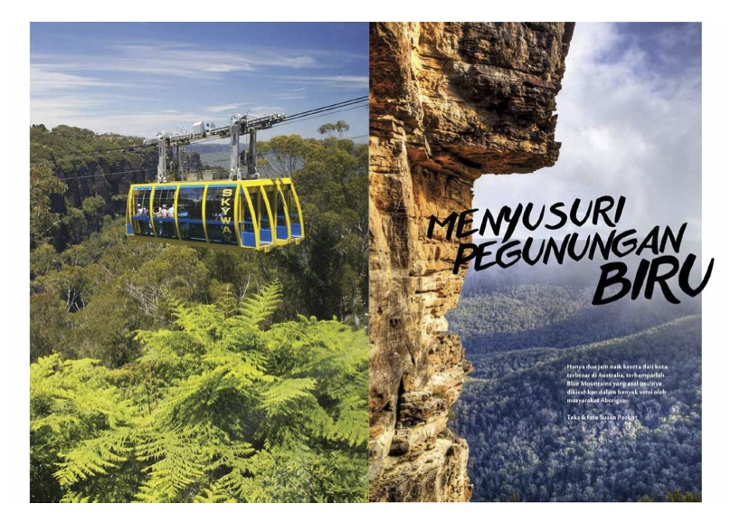Blue Mountains - Majalah Panorama - Nov/Dec 2015
