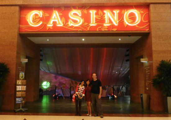 Mencoba peruntungan di Casino RWS