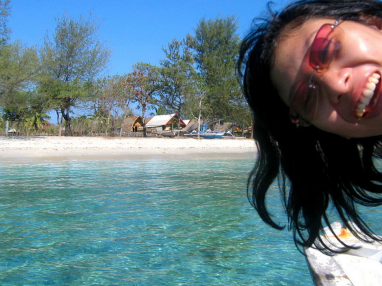 Happy around waters! - Gili Trawangan