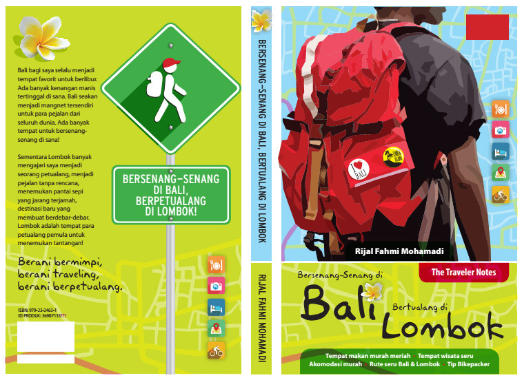 Buku The Traveler Notes Bali & Lombok