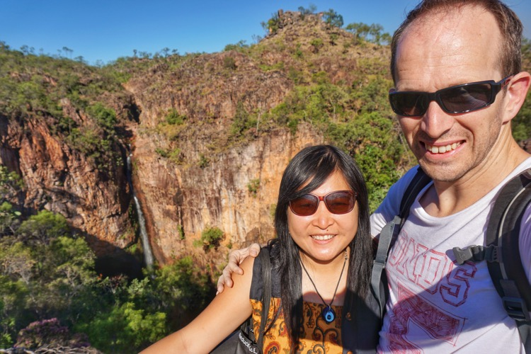 Adam & Susan Pergi Dulu at Litchfield National Park