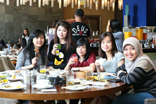 With Bandung Foodies