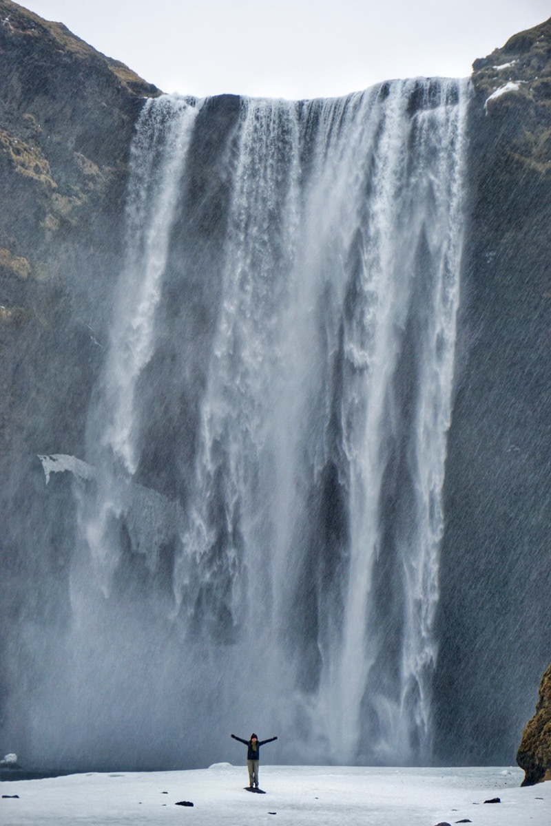 Air Terjun Seljalandsfoss