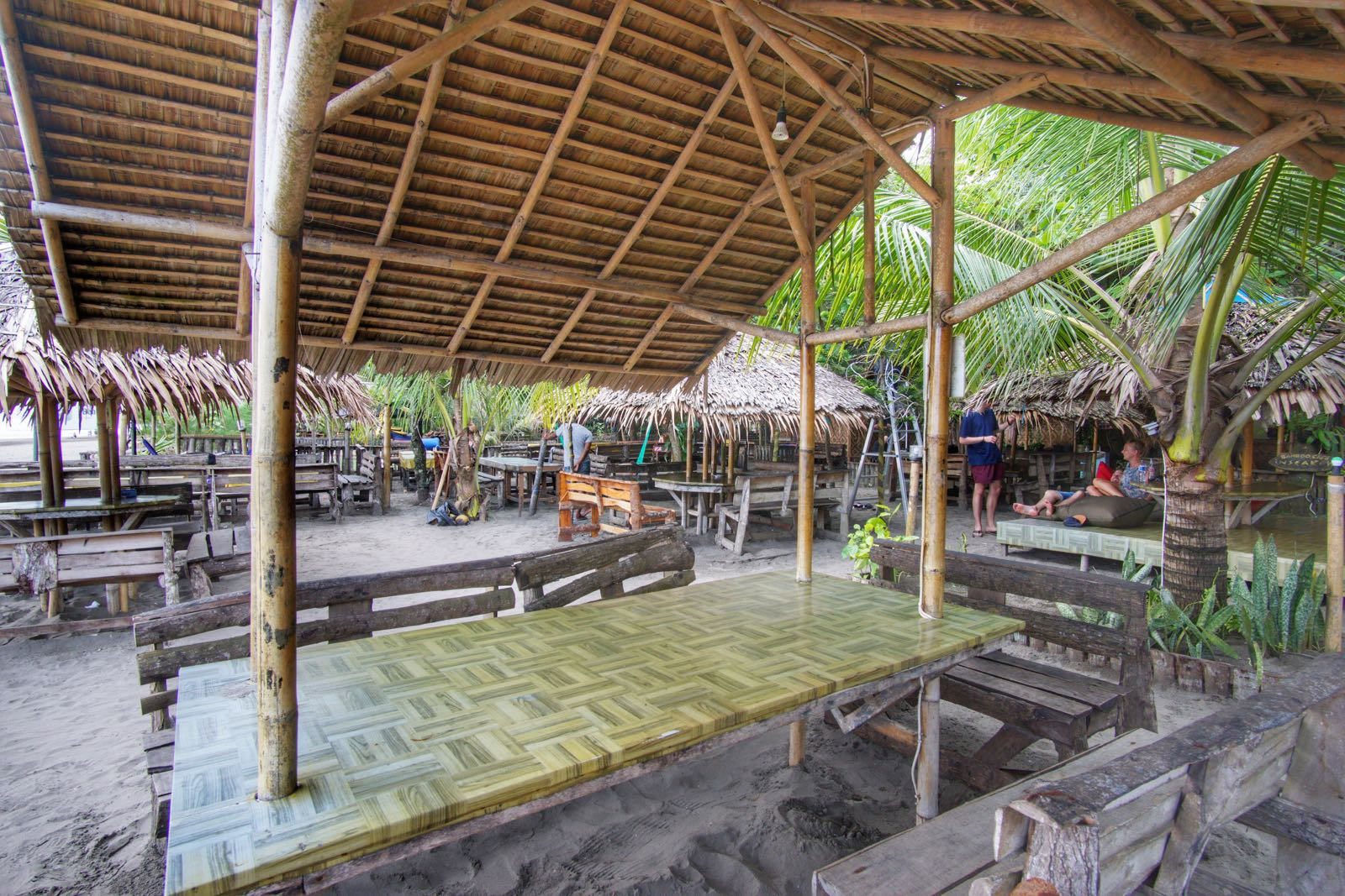 Bamboo Beach Bar, Pangandaran