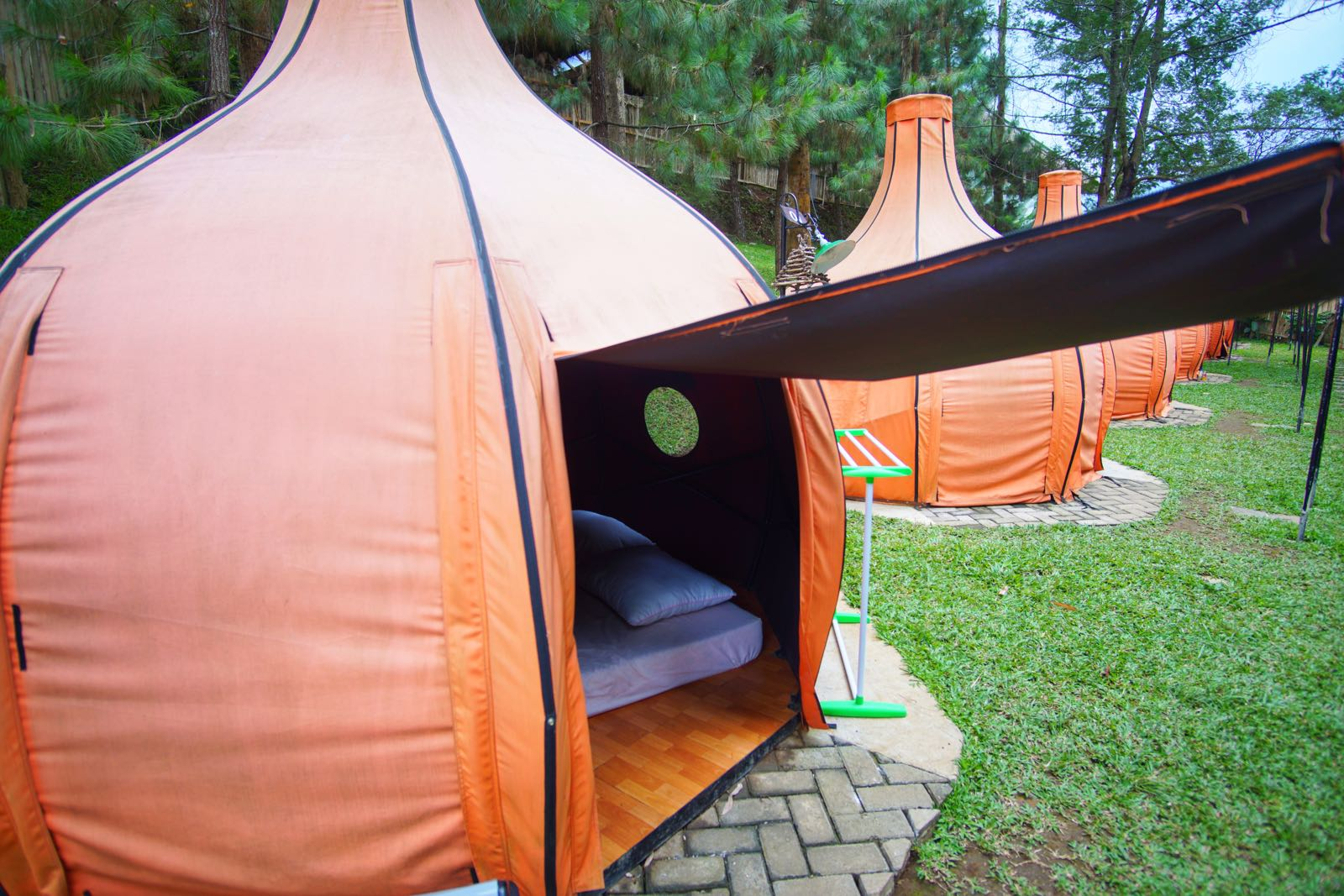Camping The Lodge Maribaya Tenda Luar