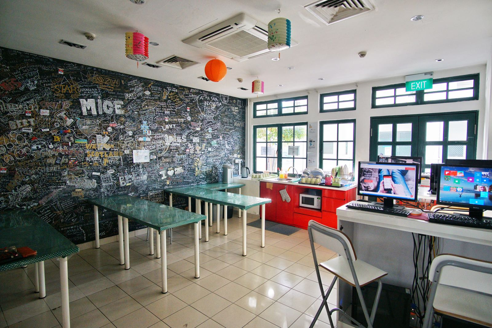 Footprints Hostel Little India Singapore Common Area