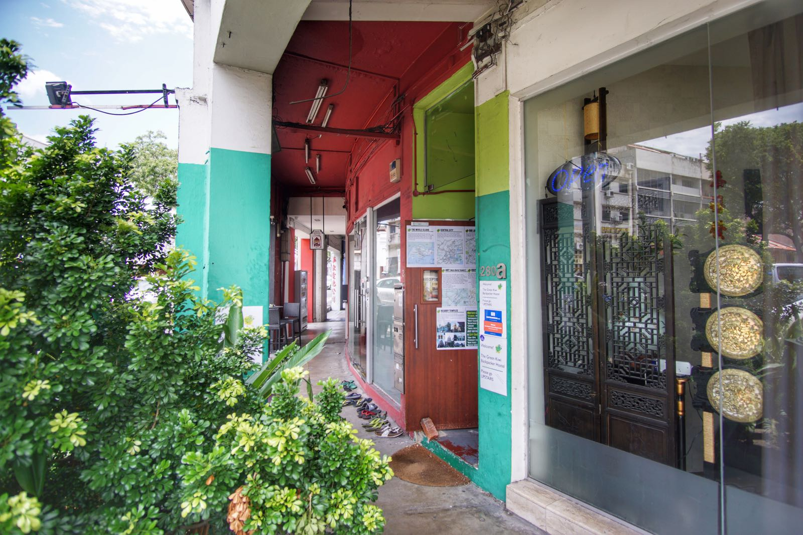 Green Kiwi Backpacker Hostel Lavender Singapore Depan