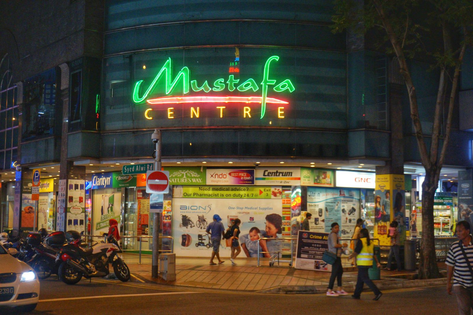 Mustafa Centre Little India Belanja 24 Jam Di Singapore