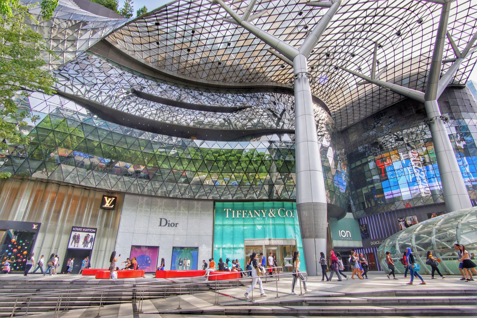 Orchard Road Singapore Mall ION