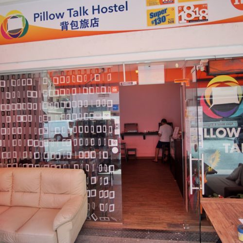 Pillow Talk Hostel Lavender Singapore Depan