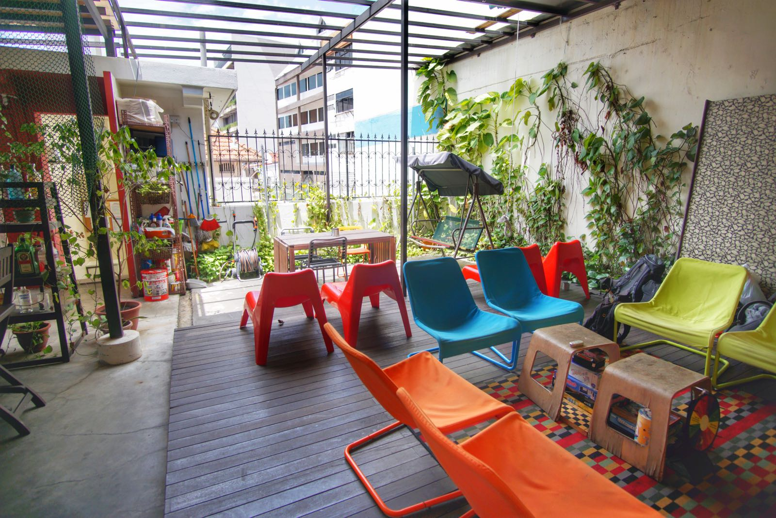 The Little Red Dot Hostel Lavender Singapore Common Area