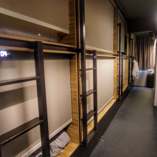 The Pod Boutique Capsule Hotel Bugis Singapore Dorm