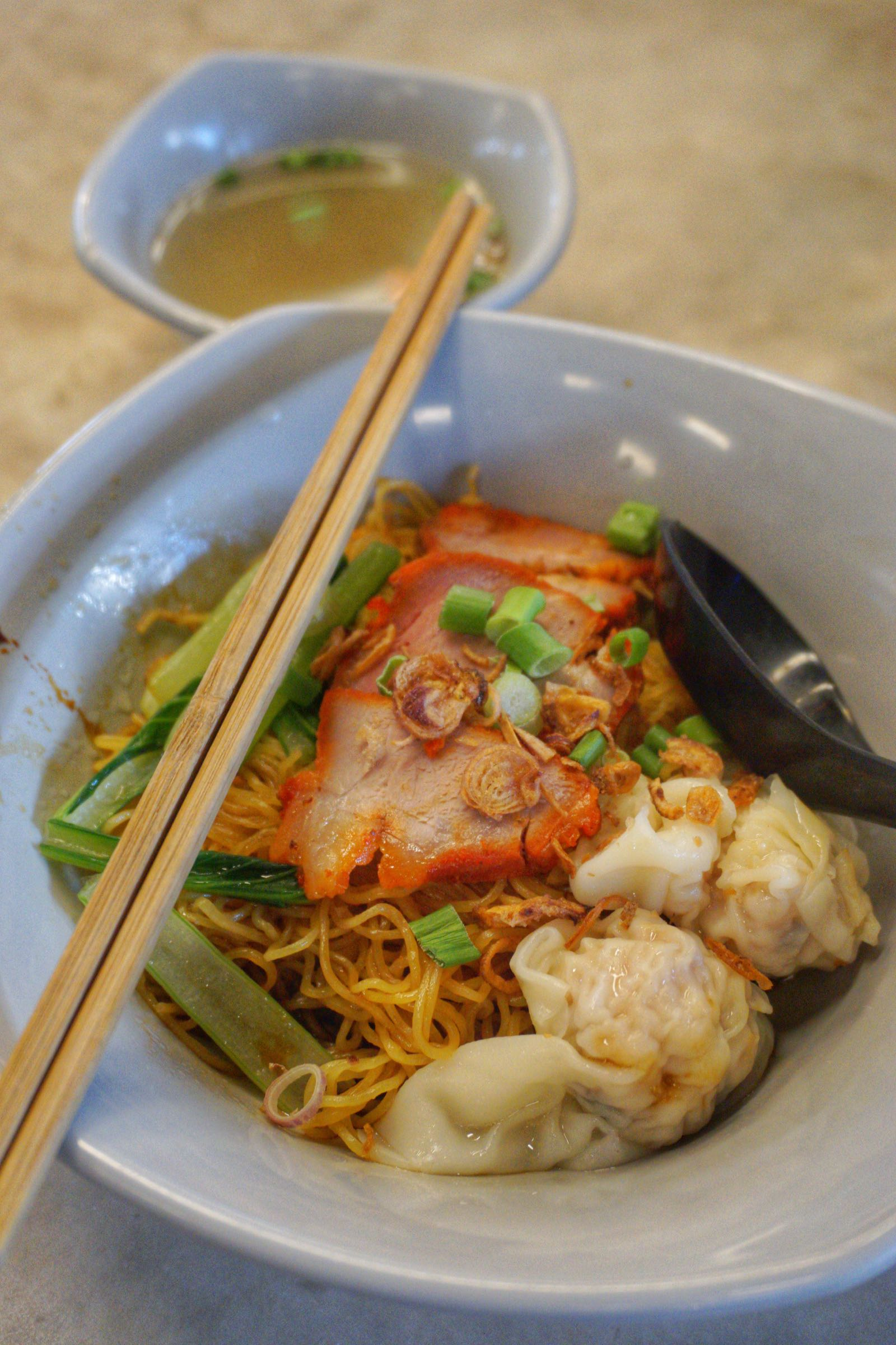 Wonton Mee Di Singapore Food Trail