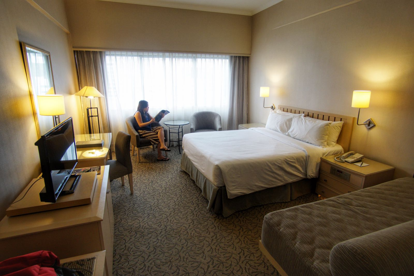 York Hotel Orchard Singapore Kamar