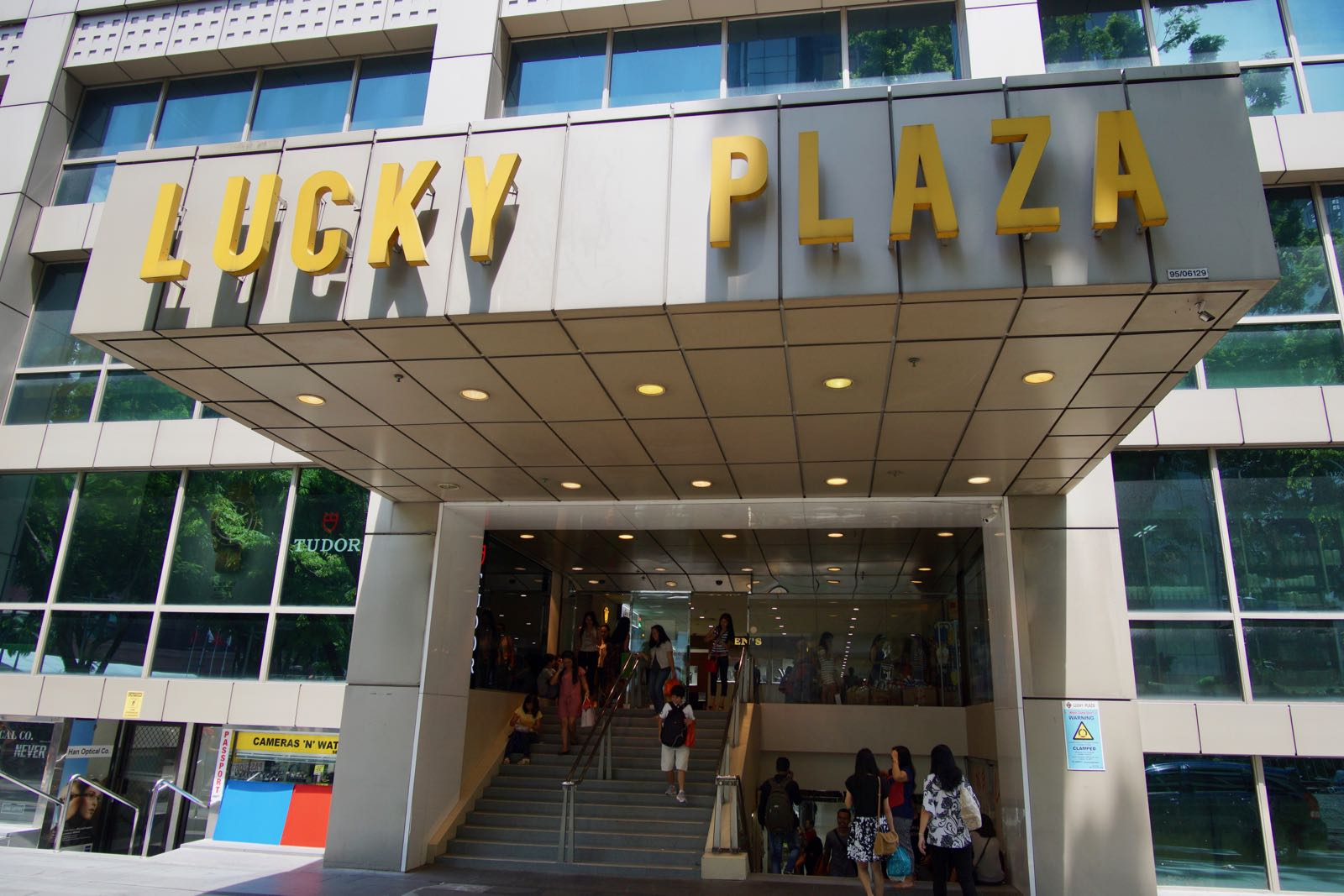 Lucky Plaza Mall Singapore