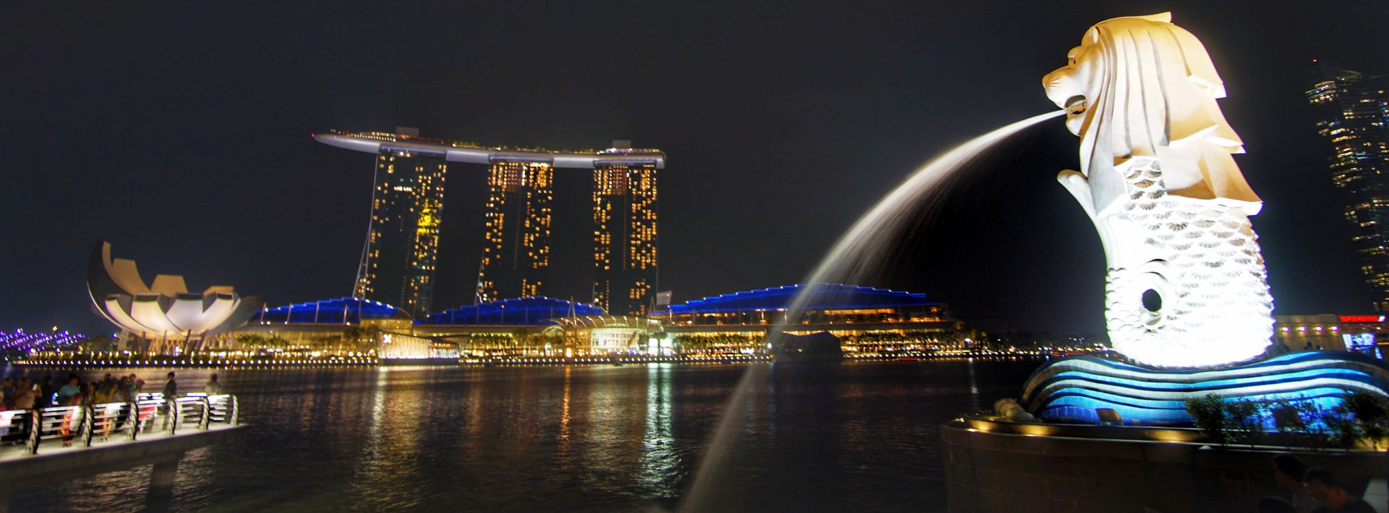 Merlion Marina Bay Sands Singapore