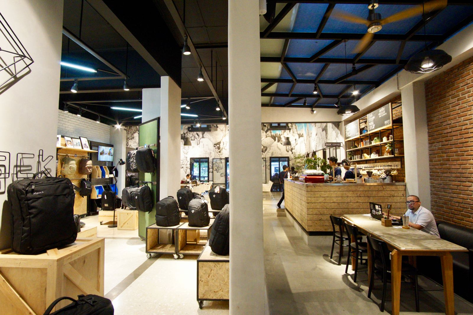 Eiger Coffee Dan Bag Store