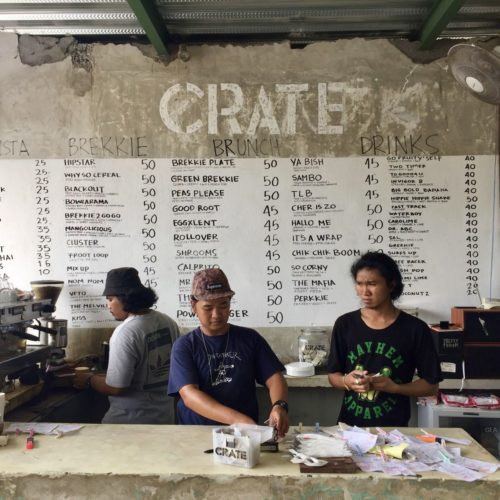 Menu Di Crate Cafe Canggu