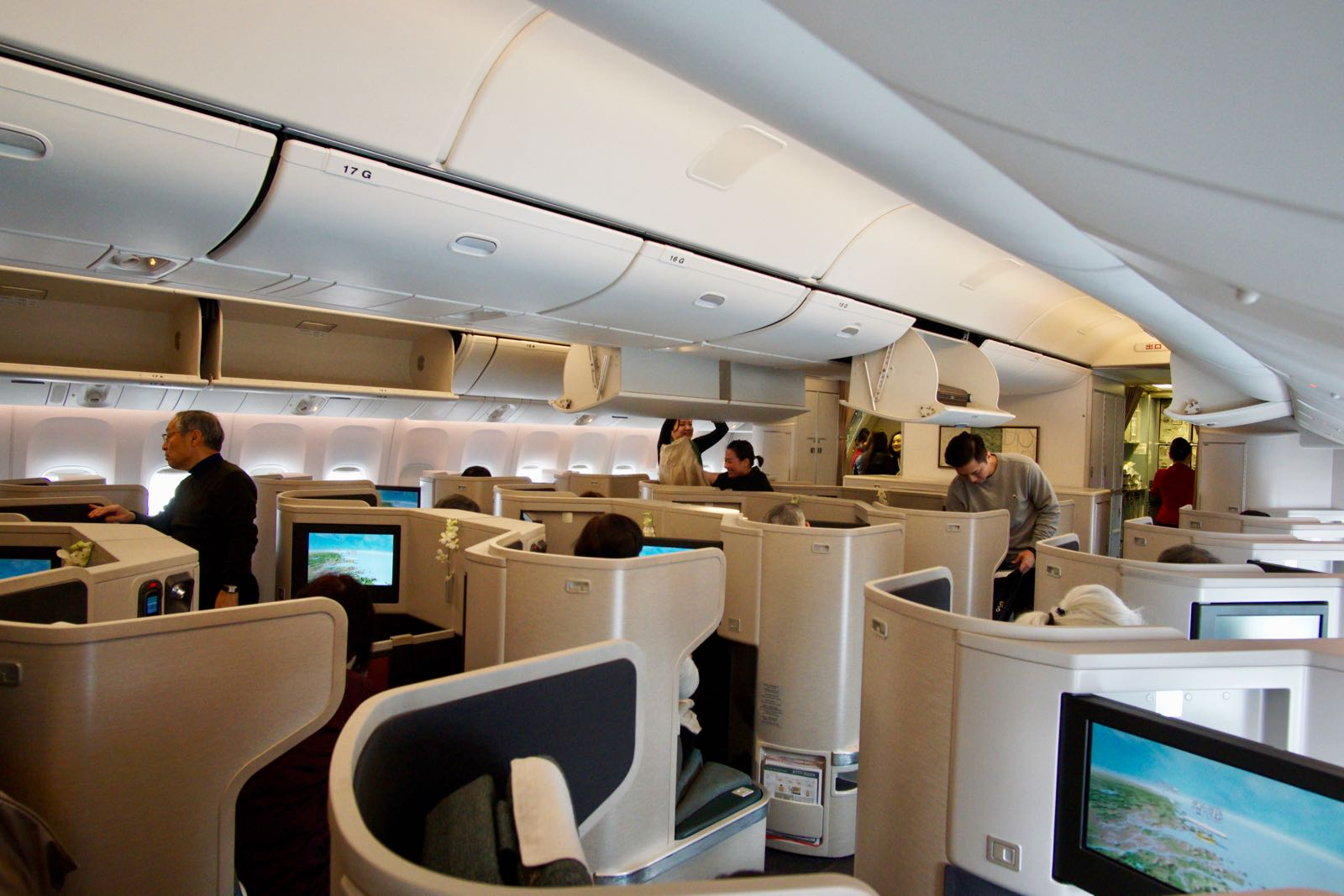 Cathay Pacific Business Class A330