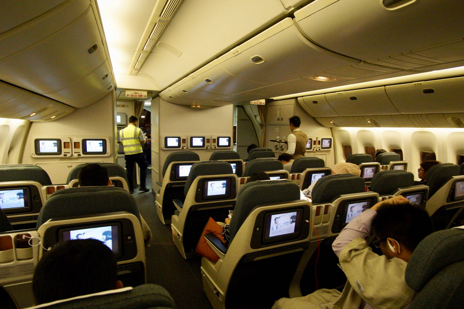 Cathay Pacific Business Class Boeing 777 200
