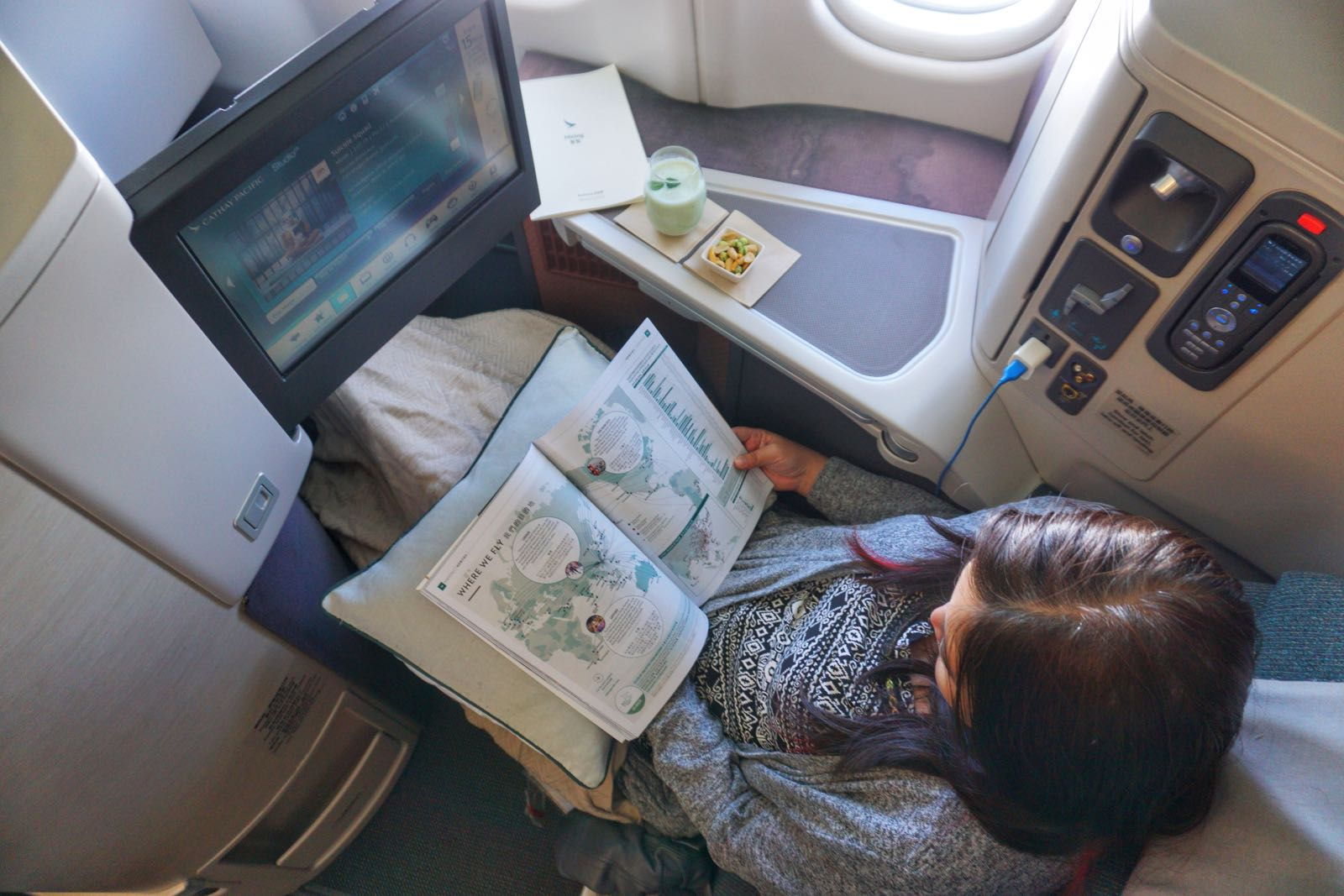 Review Cathay Pacific Business Class